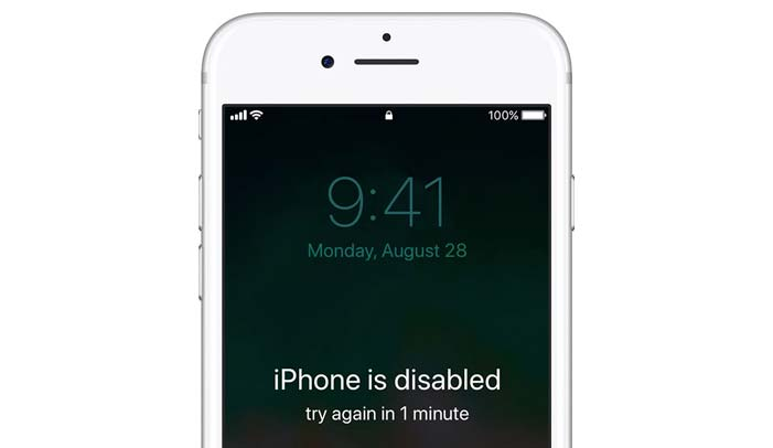unlock disable iphone
