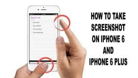take screenshot on iphone 6