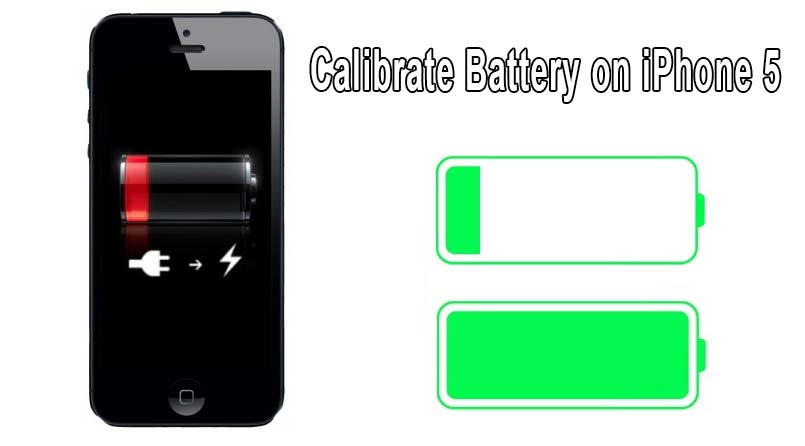 calibrate battery on iphone 5