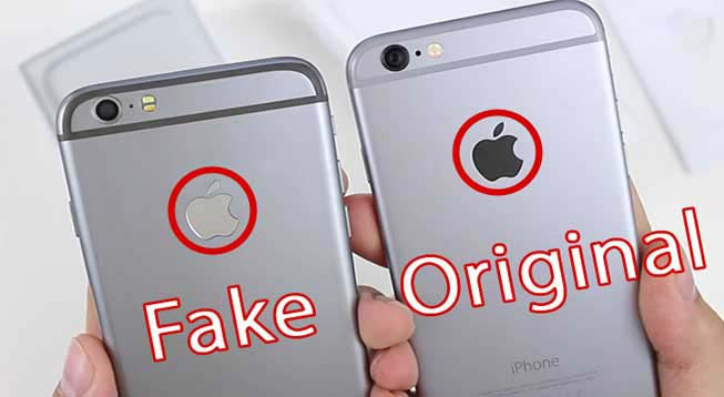 identify a fake iphone 5