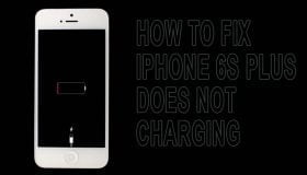 iphone 6s plus not charging