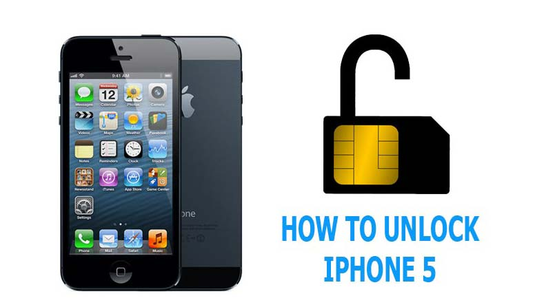 unlock iphone 5