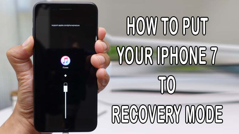 enter recovery mode on iphone 7