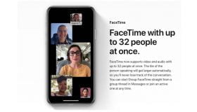 group facetime call on iphone xs