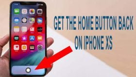 home button on iphone xs