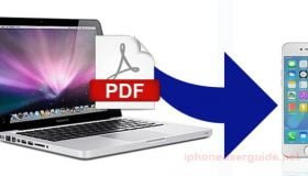 transfer pdf to iphone