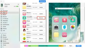 remove apps from iphone